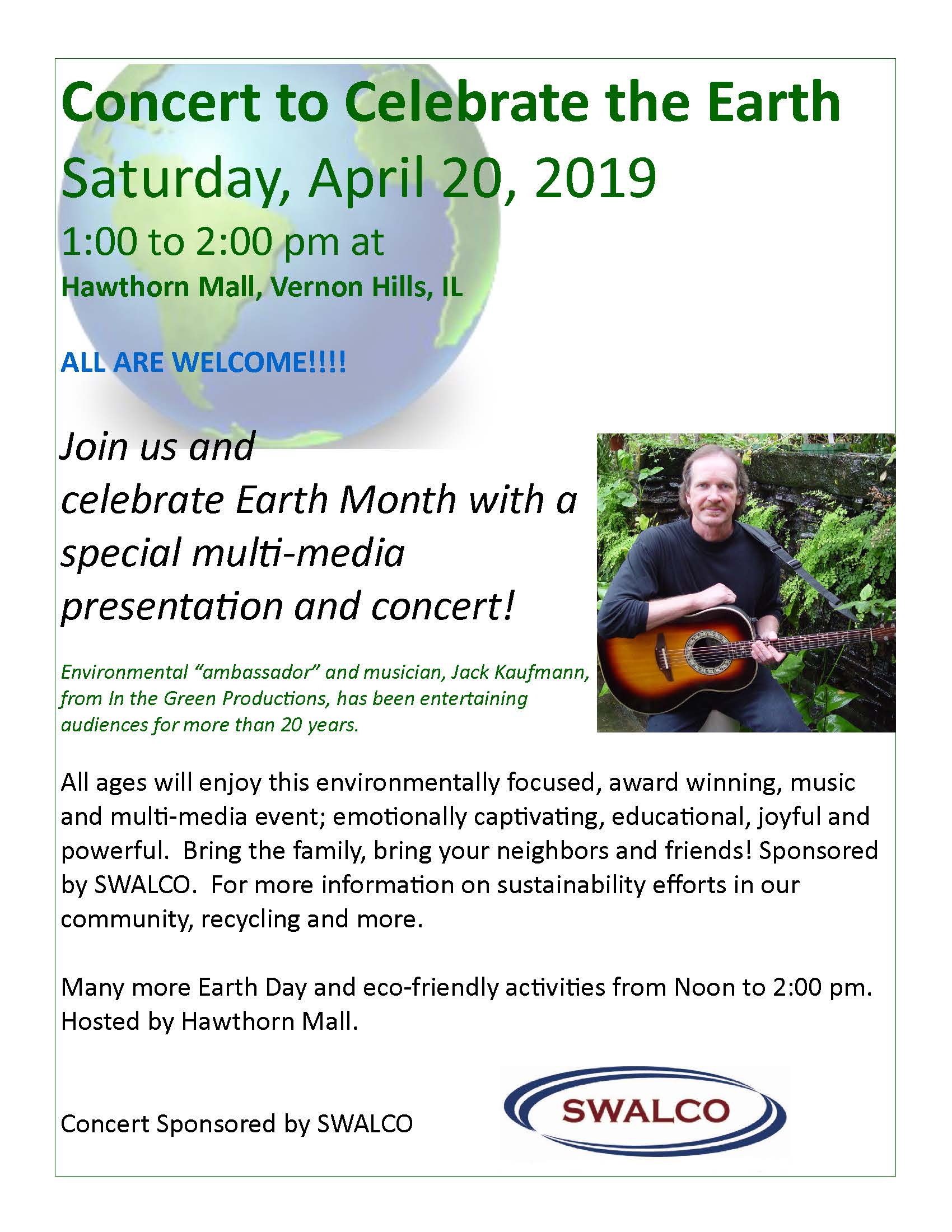 Jack April 2019 Hawthorn Mall Concert Flyer